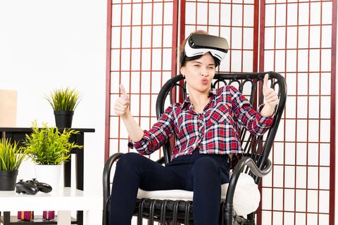 realta virtuale senza visori
