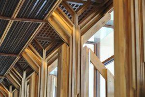 Canapa per interni utilizzata per costruzioni e arredamento